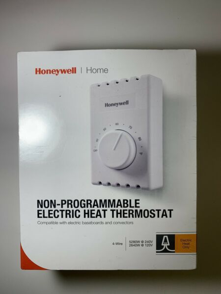 Honeywell Home 4 Wire Non Programmable Electric Heat Thermostat CT410B. $14.99