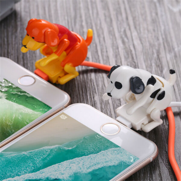 For Type c Micro USB smartphone Humping Funny Dog Fast charger cable $6.44