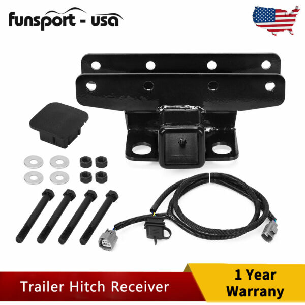 2quot; Towing Trailer Hitch Receiver for 2007 2008 2009 2018 Jeep Wrangler JL JLU $43.50