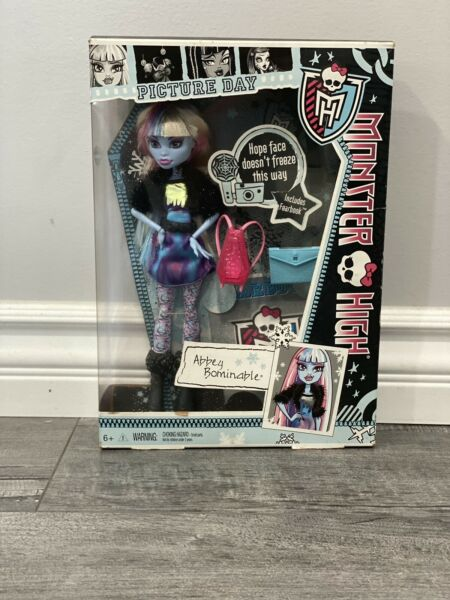 Monster High Doll Picture Day Abbey $30.00