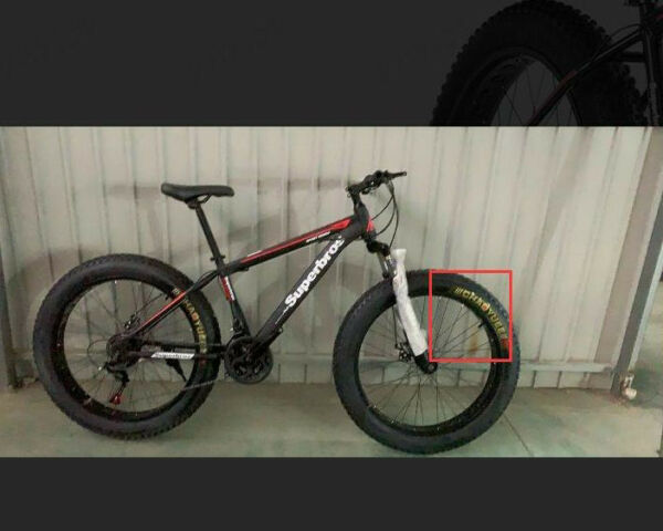 26in 4quot;W Fat Tire Mountain Bike 21 Speed Bicycle High Purity Aluminum Frame MTB $379.50