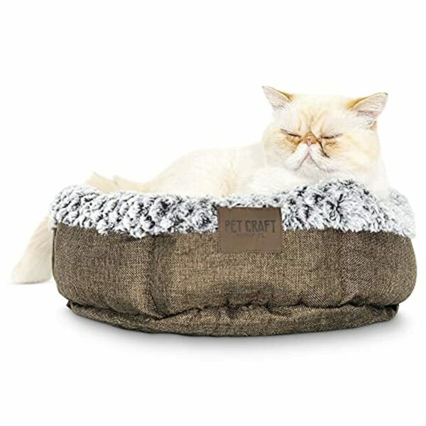 Pet Craft Supply Soho Round Dog Bed for Small Dogs Cat Bed For Indoor Cats U $22.02