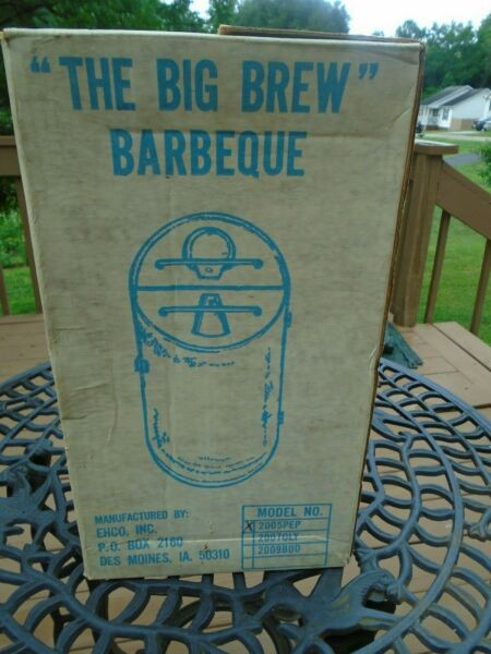 The Big Brew Barbeque Grill Pepsi Can Portable Edition Made In USA By Ehco Inc.