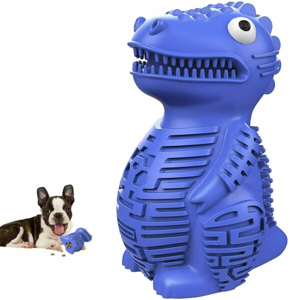 Indestructible Dog Chew Interactive Toys for Aggressive Chewers Food Leaking $15.50