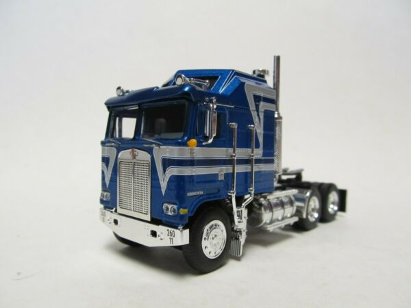 DCP FIRST GEAR 1 64 SCALE KENWORTH K 100 AERODYNE BLUE WITH GRAY STRIPES