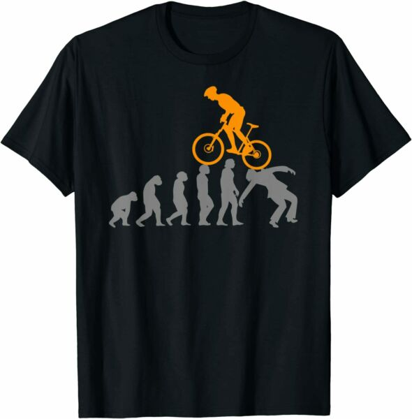 NEW LIMITED Evolution Bike Mountain Accessories Bicycle T Shirt S 3XL $17.99