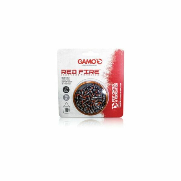 Gamo Red Fire Pellets .177 150 Count Tin 632270154 $11.78