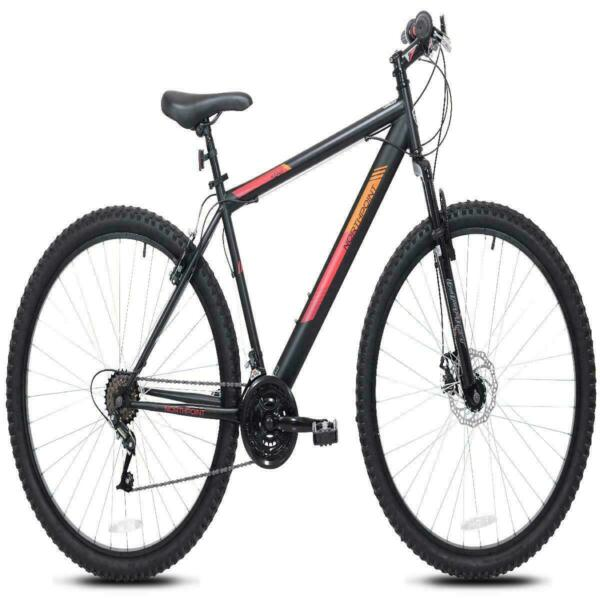 29 In. Northpoint Mens Mountain Bike 21 Speed Traditional Flat Pedals New $165.99