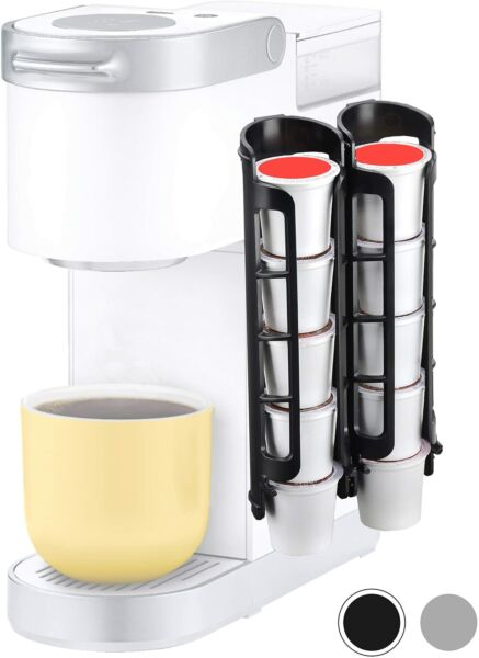 Coffee Pod Holders For Keurig K cup Side Mount K Cup Storage Perfect For Small