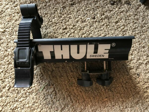Thule 535 Short Wheel Tray with Ratchet Strap and Square Bar Adapter Vintage $20.00