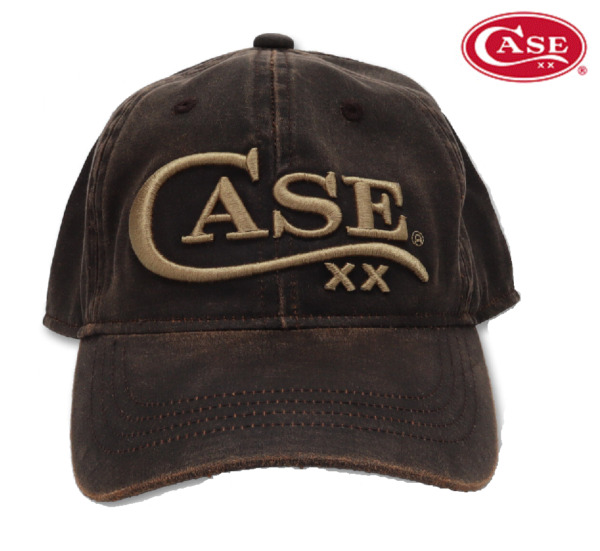 Case XX Hat Ball cap Brown with CASE knives Logo