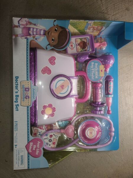 Doc McStuffins Baby Doctor#x27;s Bag Set with Lil#x27; Puppy