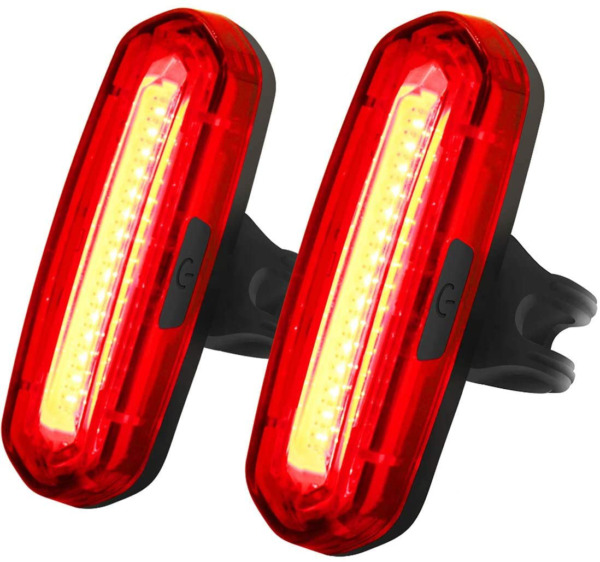 Rear Bike Light Powerful 100 Lumens Rechargeable Bicycle Tail Light 6 Modes by $28.69