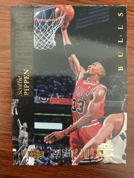 1993 94 Upper Deck Special Edition Electric Gold Electric Court Scottie Pippen $23.99