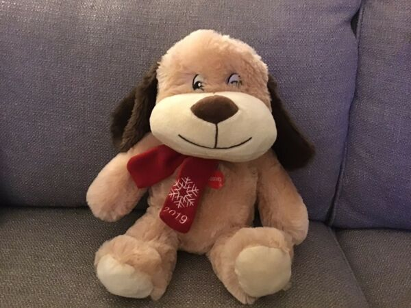 Petsmart Dog quot;Chancequot; 2019 Collectible Dog Toy with Squeaker Plush $10.95