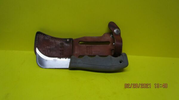 Buck Fixed Blade Knife With Sheath Model 810 C USA Made great condition