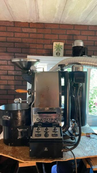 OZTURK Commercial Coffee Roaster amp; Grinder equipment with extra perks.