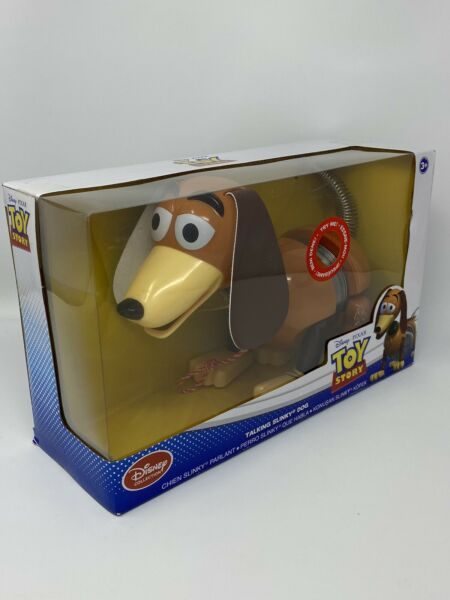 Disney Parks Toy Story Talking Slinky Dog in Box 20 Phrases Pull Toy New $36.99