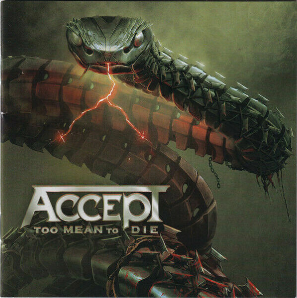 Too Mean To Die ACCEPT CD BRAND NEW 2021