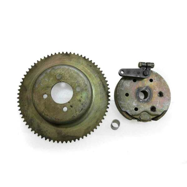 Bendix 5quot; Drum Brake Assembly With 72 Tooth Sprocket 35 Chain 2530X $108.36