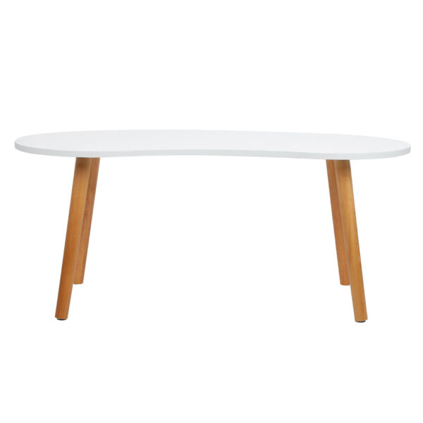 Side Table Mid‑century Modern Style Coffee Table MDF Durable For Living Room $66.37