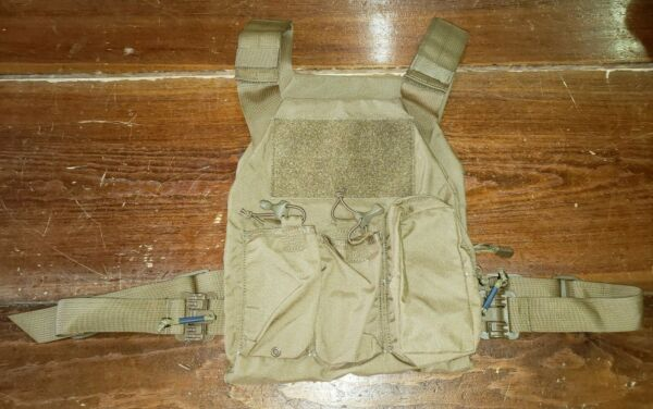 FirstSpear First On low pro plate carrier 2 mag GP pouch M L coyote brown armor $129.99