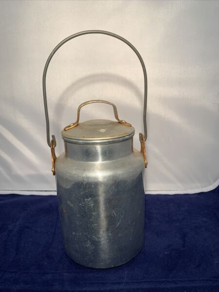 Vintage Aluminum Coffee Pot Campfire Lyse 1 Qt Made In USA Wisconsin