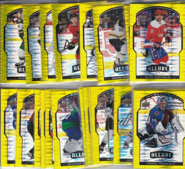 2020 21 20 21 UPPER DECK ALLURE HOCKEY YELLOW TAXI CAB PARALLEL#x27;S 1 100