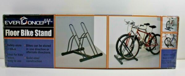EVER CONCEPT 2 BIKE FLOOR STAND NEW $10.00