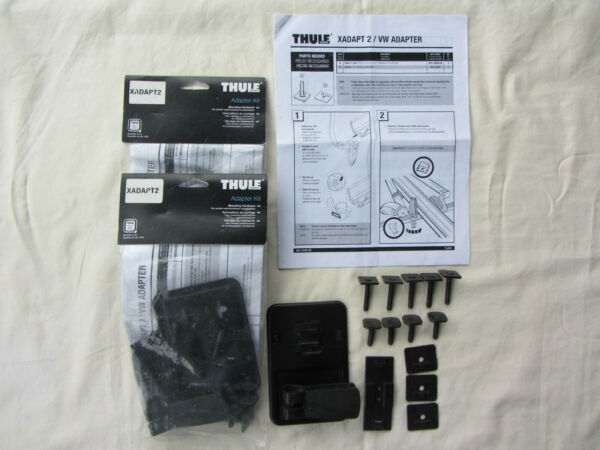 Thule Xadapt2 VW amp; Xsporter Adapter Kits TWO BRAND NEW Sealed Bags $50.00