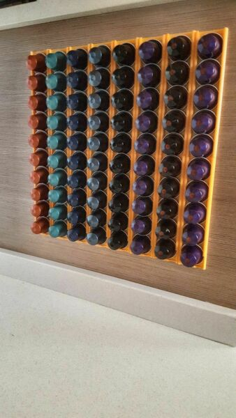 Nespresso capsule dispenser Pack of 10 organizer . To stick on the wall.