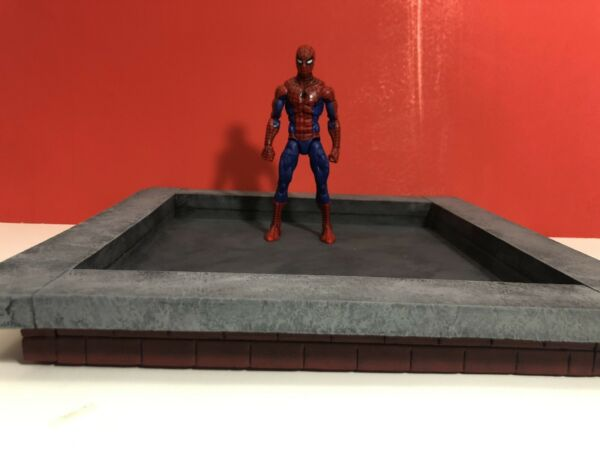 1:12 Scale Small Rooftop Diorama Base Detolf Action Figure Photography $35.00