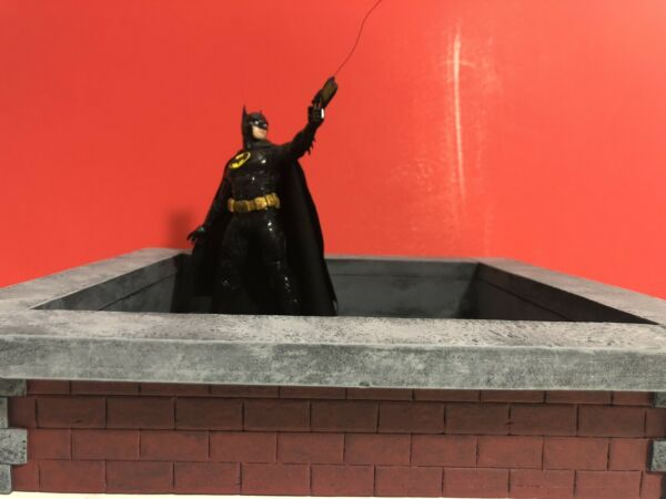 1:12 Scale Medium Rooftop Diorama Base Detolf Action Figure Photography $45.00