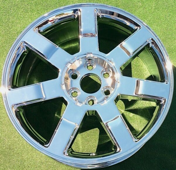 NEW 2007 2008 2009 Cadillac Escalade Chrome OEM GM Factory Spec 22 in WHEEL 5309