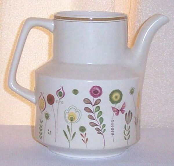 Sprite by Lenox China Flowers Coffee Pot Temperware Replacement Bottom