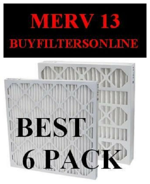 QUAL MERV 13 PLEATED HOME FURNACE ALLERGY AIR FILTERS