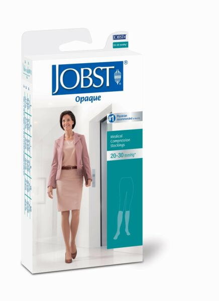Jobst Womens Compression Opaque Knee High Stockings 20 30 mmhg Open Toe Supports $67.26