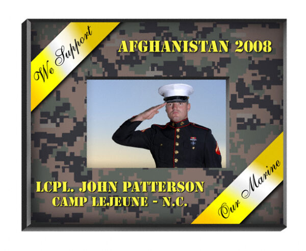 MILITARY FRAMES PERSONALIZED ALL BRANCHES IN MEMORY MILITARY MEMORIAL DAY
