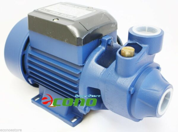 1 2 HP ELECTRIC WATER PUMP POOL FARM POND Centrifugal BioDiesel 110V 9GPM $49.99