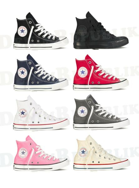 CONVERSE ALL STAR Chuck Taylor Hi High Top Shoes Unisex Canvas Sneakers