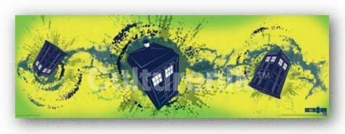 SCIENCE FICTION POSTER Doctor Who TARDIS Taking Off Horizontal $7.99