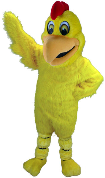 Yellow Chicken Professional Quality Lightweight Mascot Costume