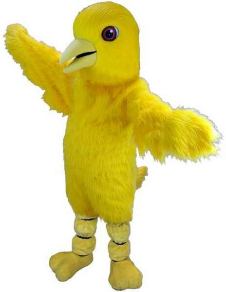 Canary Professional Quality Lightweight Mascot Costume