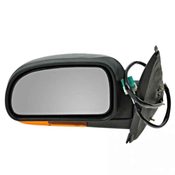 Fits 02-03 Trailblazer Envoy Bravada Left Driver Mirror With Heat, Sig, Man Fold