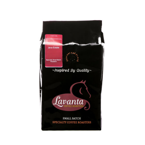 Indonesia Java Estate Arabica Direct Trade Green or Roasted Coffee 1 to 15 lbs