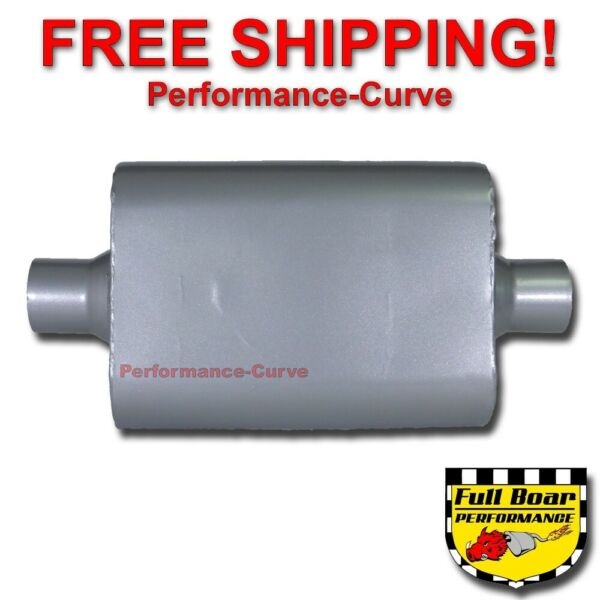 2 Chamber Performance Muffler FULL BOAR 2.5quot; Center Center FB2540