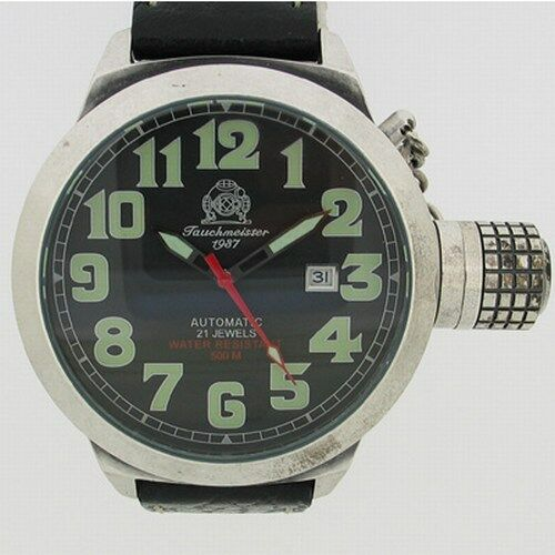 German Automatic RETRO U-Boot Crown Protection T0054