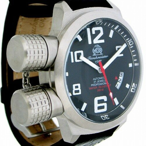 German U-Boot HORIZONTAL Crown Protection Automatic T0108
