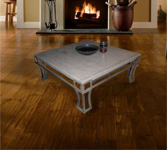 elegant marble coffee table and end table Living Room Modern