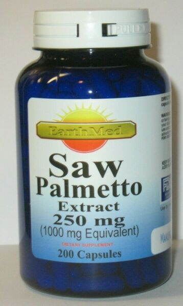200 Capsules Saw Palmetto 1000 mg - Prostate Health  6+ Month supply